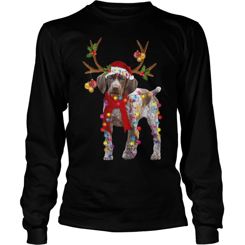 Gsp Reindeer Christmas Light Longsleeve