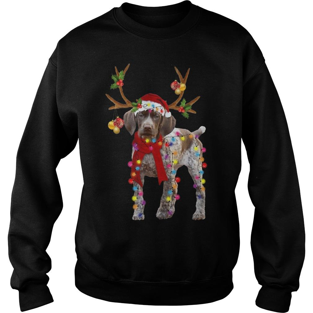 Gsp Reindeer Christmas Light Sweater