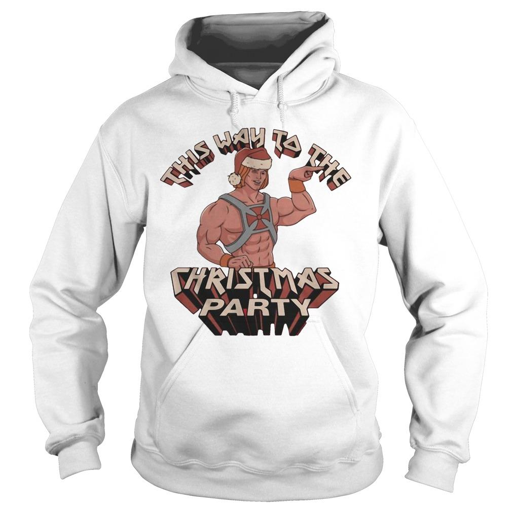 He-man This Way To The Christmas Party Hoodie