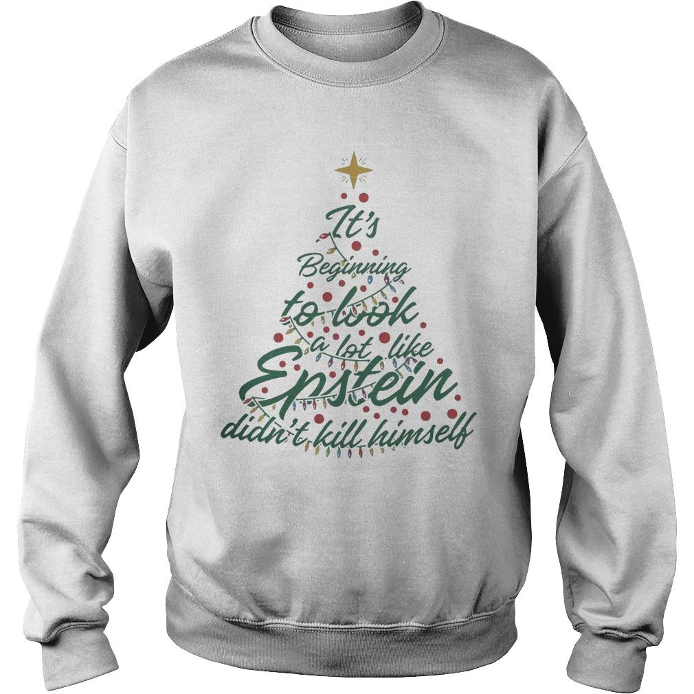 It's Beginning To Look A Lot Like Epstein Didn't Kill Himself Sweater