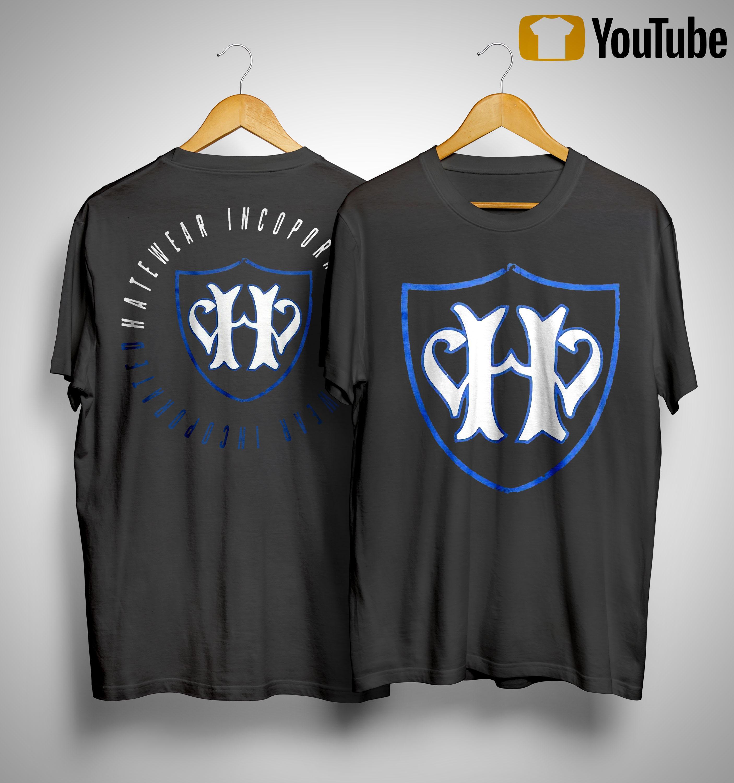 Jamey Jasta Hatewear Incoporated Shirt