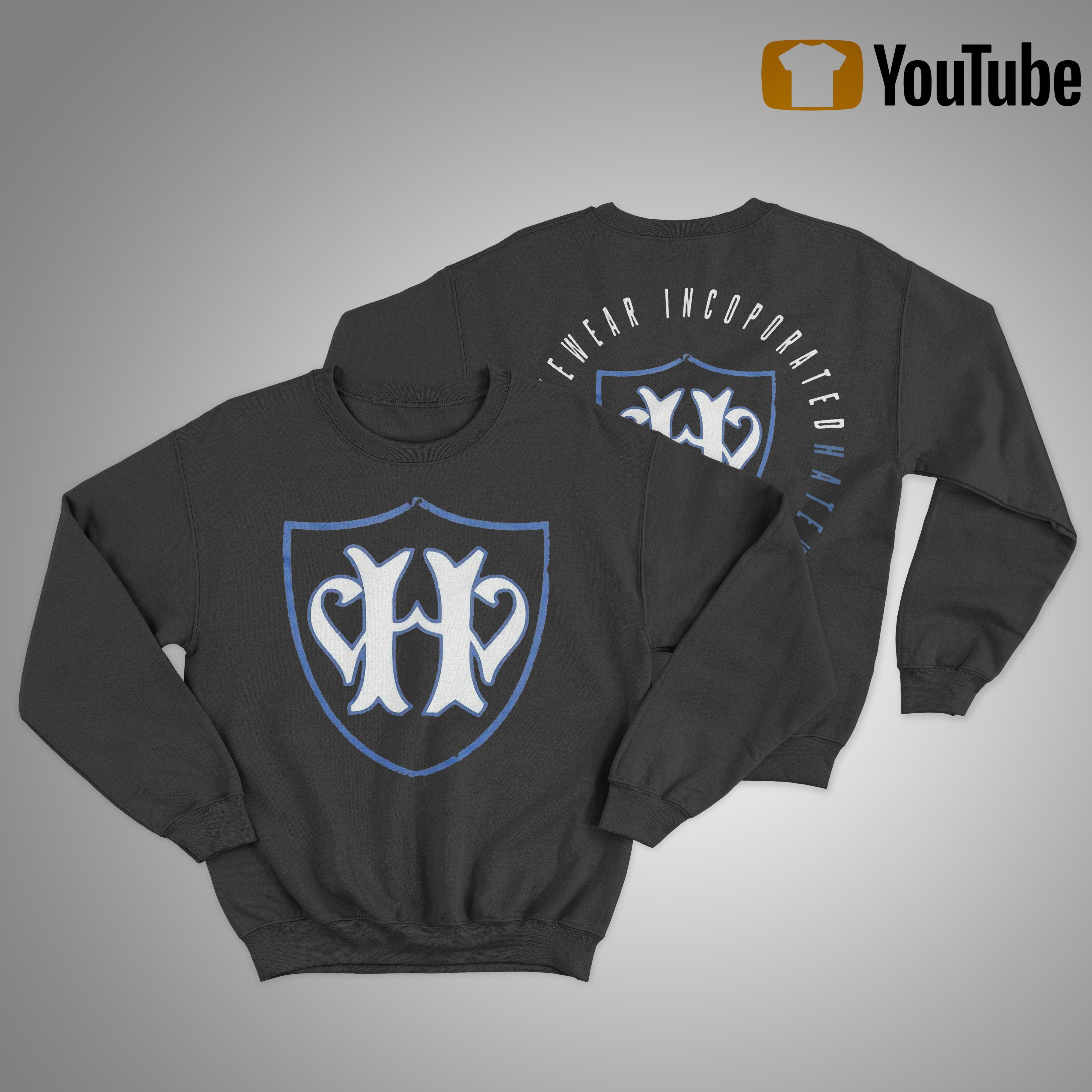 Jamey Jasta Hatewear Incoporated Sweater