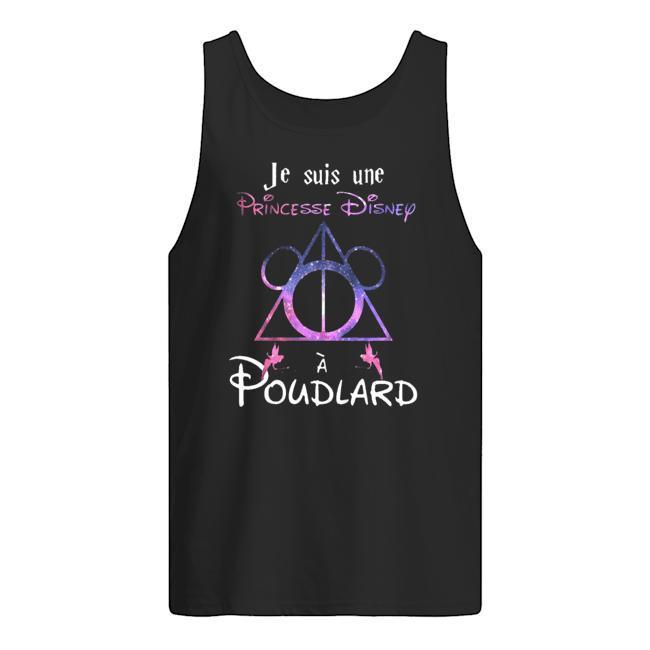 Je Suis Une Princesse Disney À Poudlard Tank Top