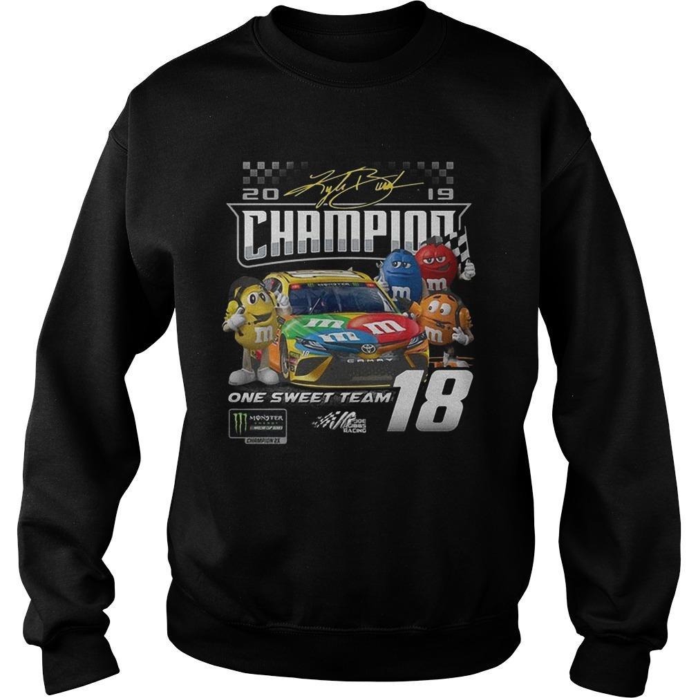 M&m One Sweet Team Champion Sweater