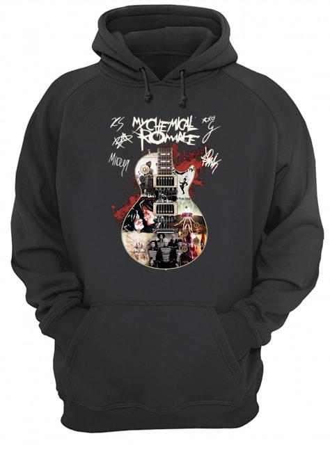 My Chemical Romance Guitar Signatures Hoodie
