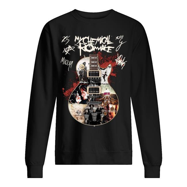 My Chemical Romance Guitar Signatures Sweater