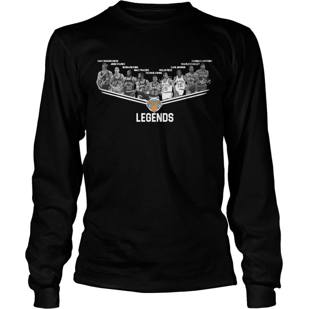 New York Knicks Legends Team Longsleeve