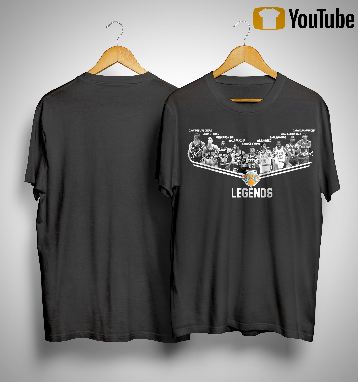 New York Knicks Legends Team Shirt