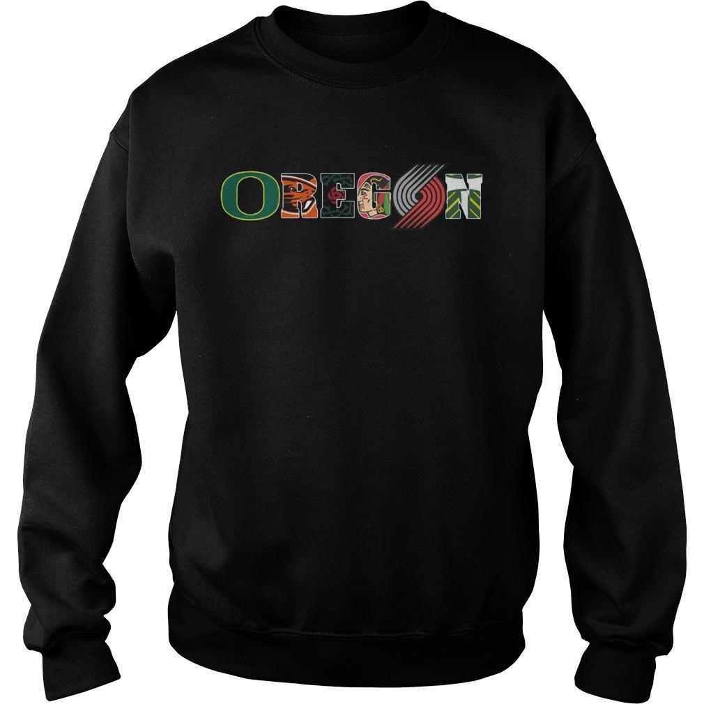 Oregon Ducks Track And Field State Beavers Baseball Sweater