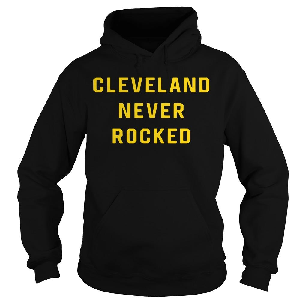 Pittsburgh Dad Cleveland Never Rocked Hoodie