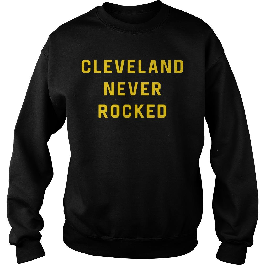 Pittsburgh Dad Cleveland Never Rocked Sweater
