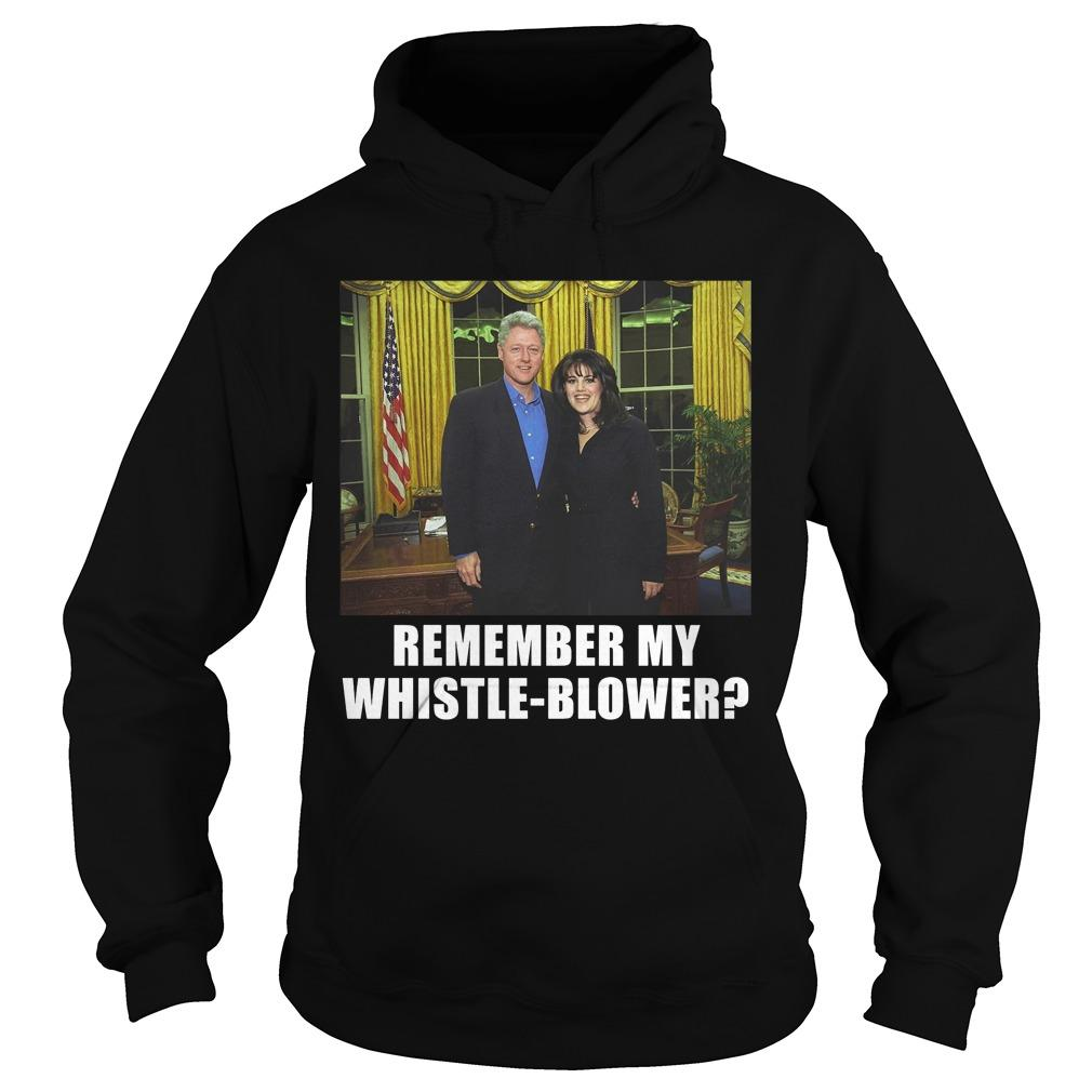 Remember My Whistle Blower Hoodie