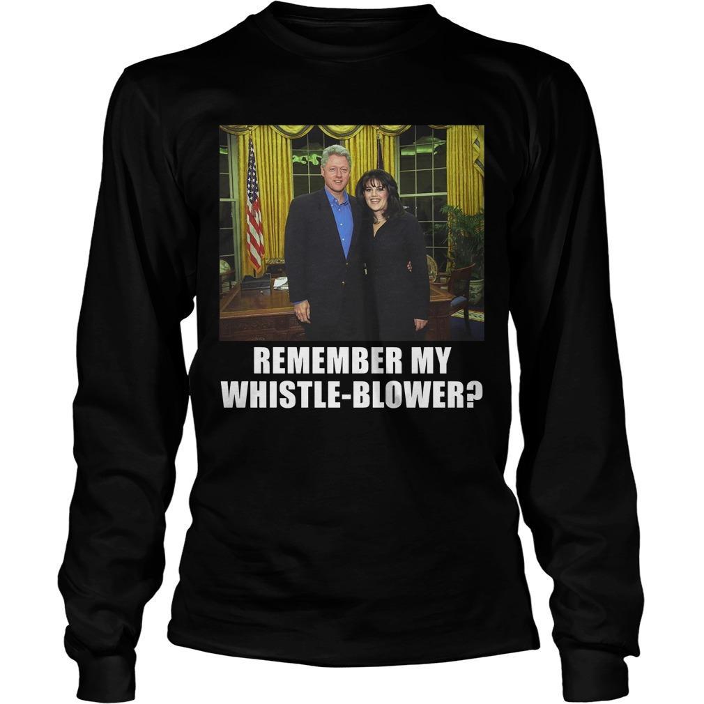 Remember My Whistle Blower Longsleeve