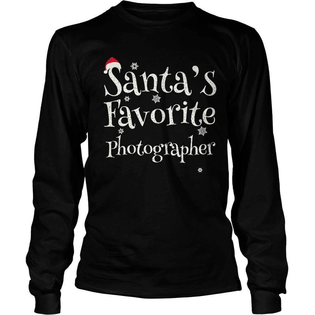 Santa's Favorite Photographer Longsleeve