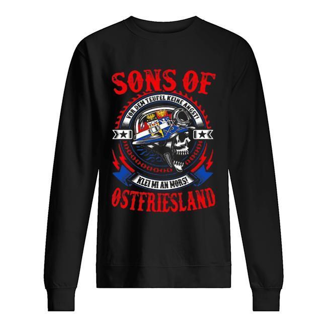 Sons Of Ostfriesland Vor Dem Teufel Keine Angst Sweater