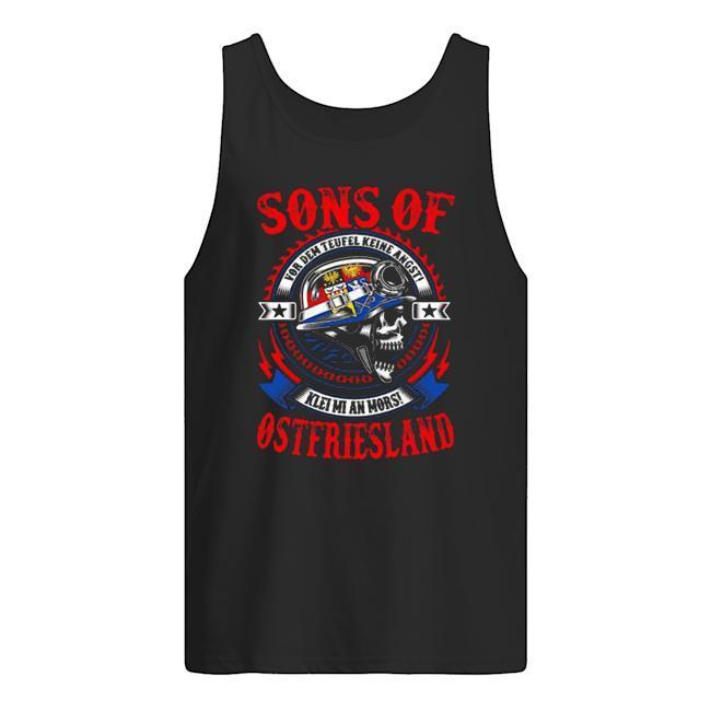 Sons Of Ostfriesland Vor Dem Teufel Keine Angst Tank Top