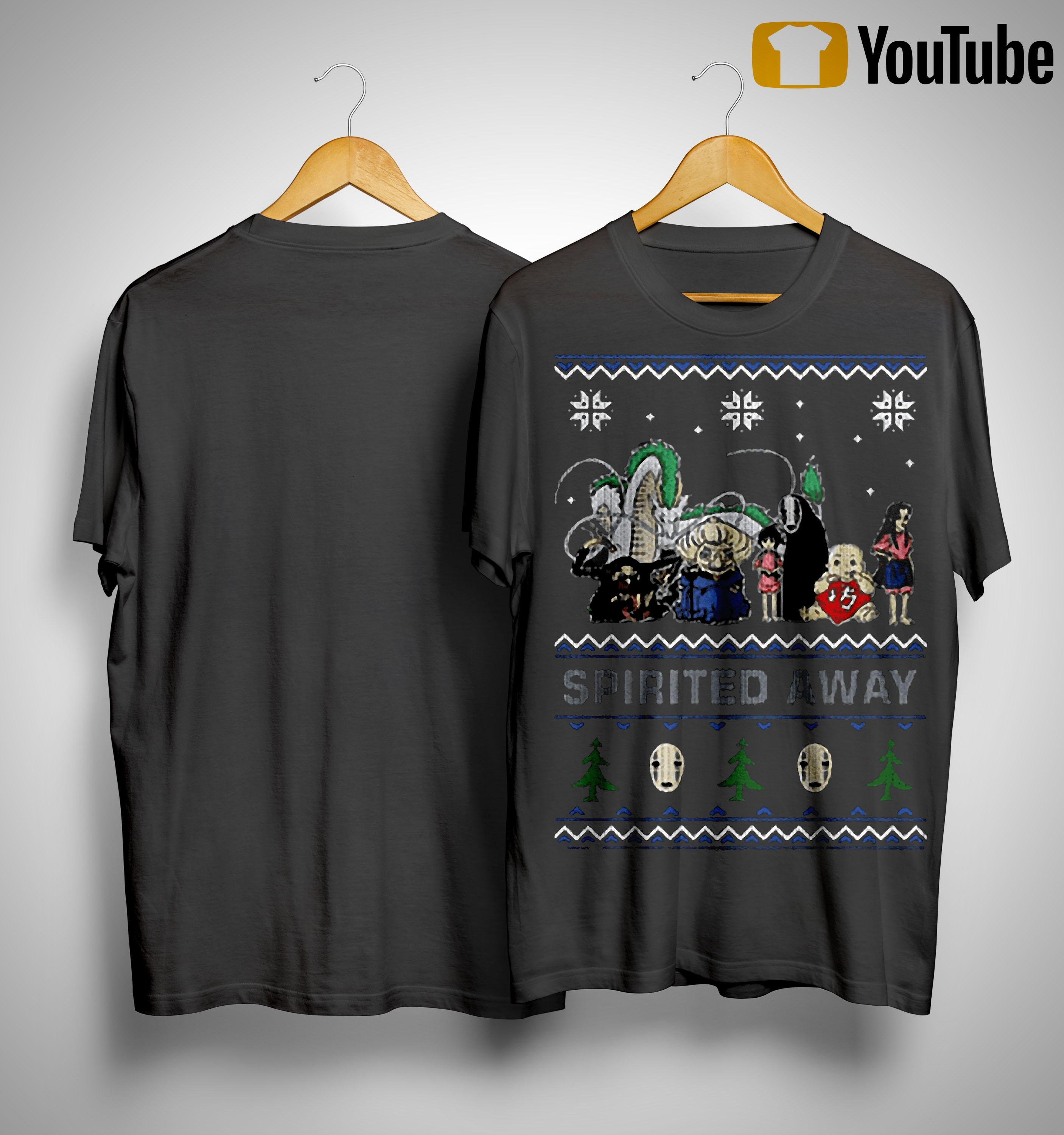 Spirited Away Ugly Christmas Shirt