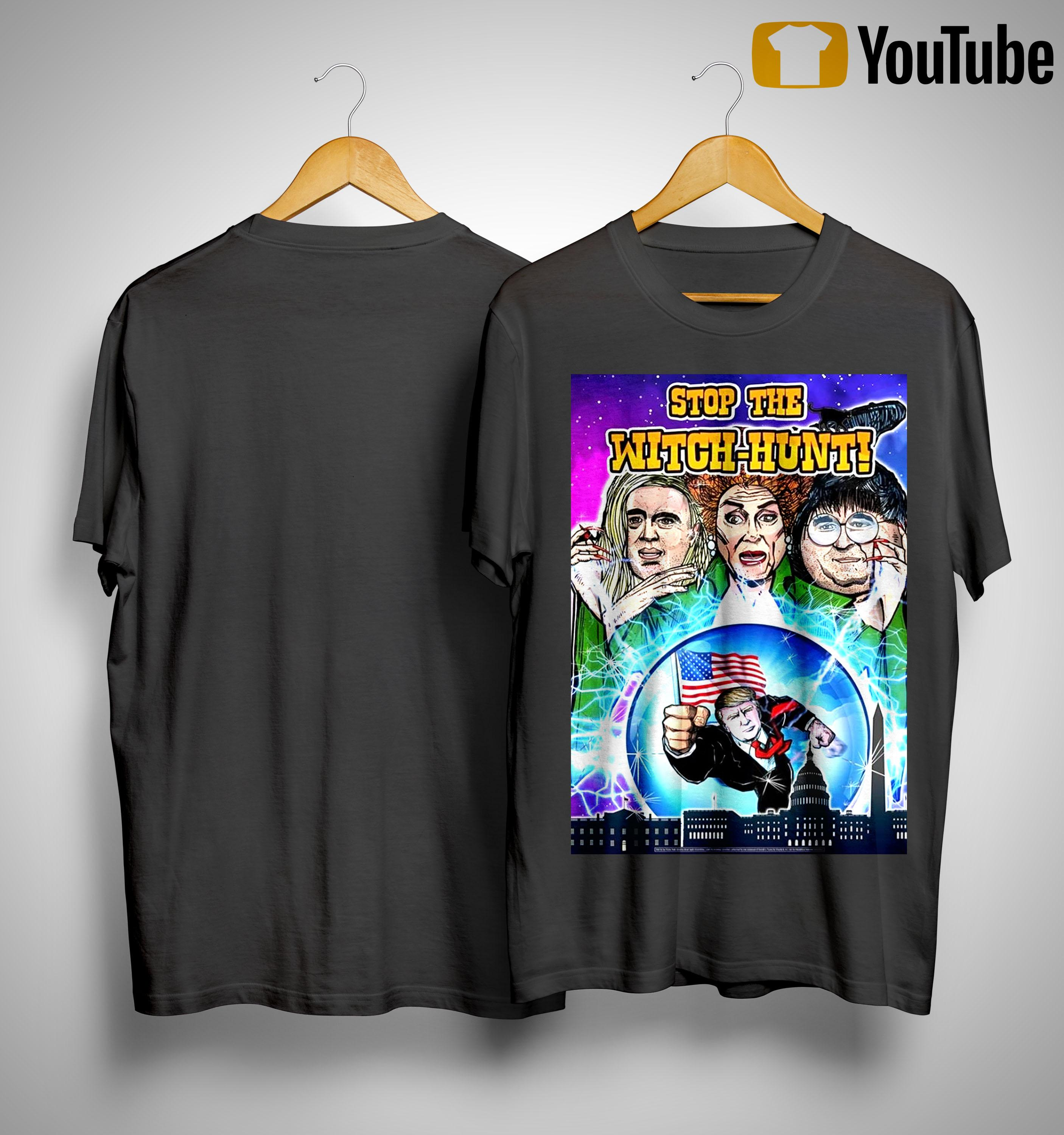 Stop The Witch Hunt T Shirt