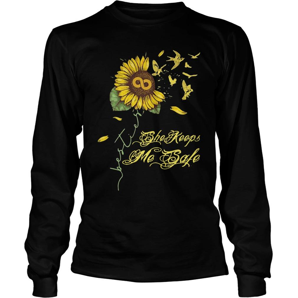 Sunflower She Keeps Me Safe Longsleeve