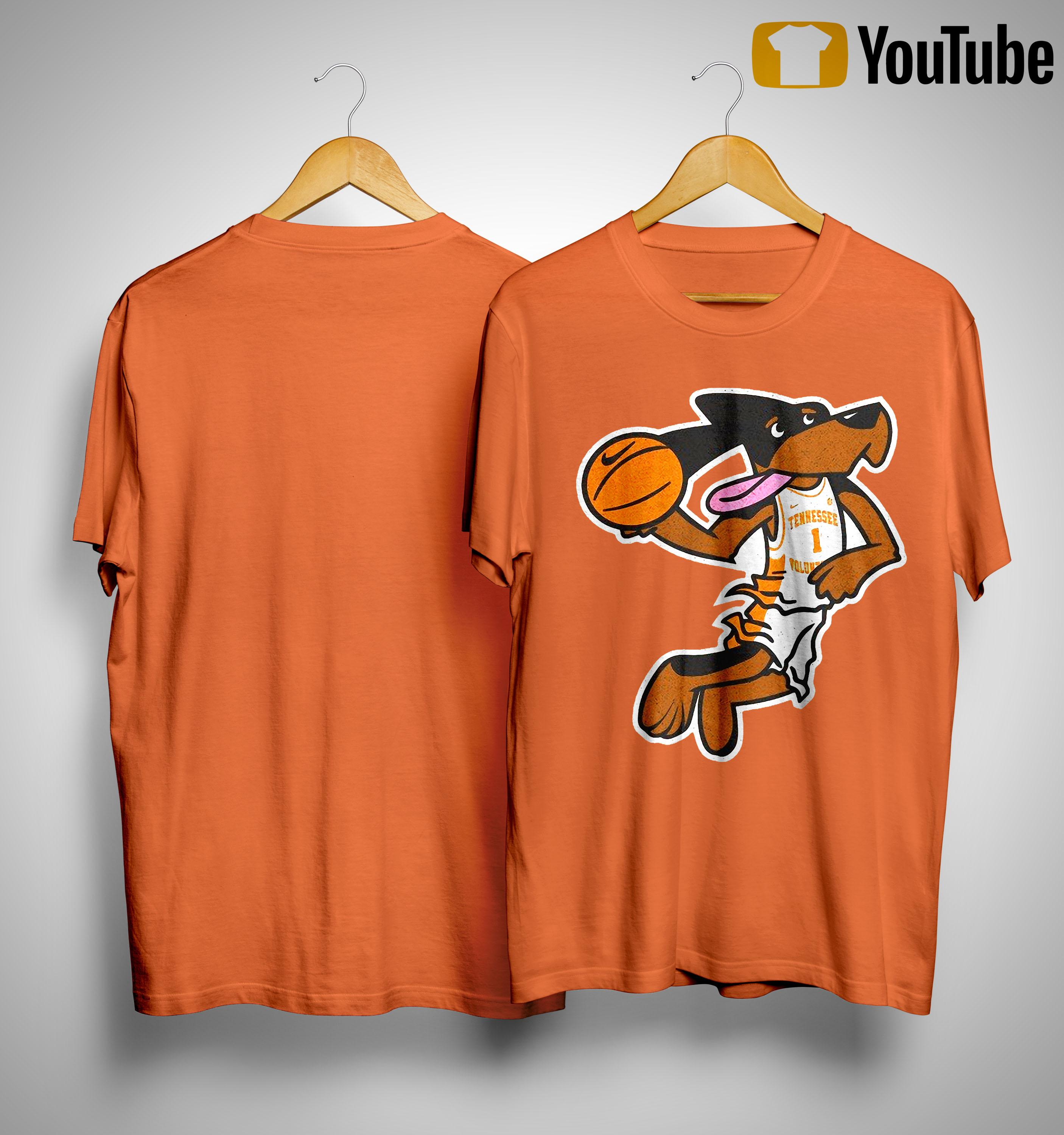 Tennessee Basketball If I Were Not A Dog Shirt