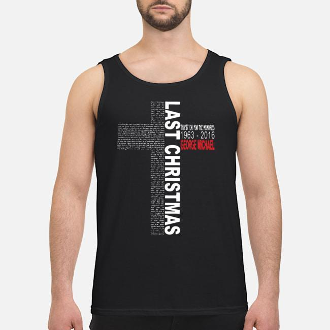 Thank You For The Memories 1963 2019 George Michael Last Christmas Tank Top