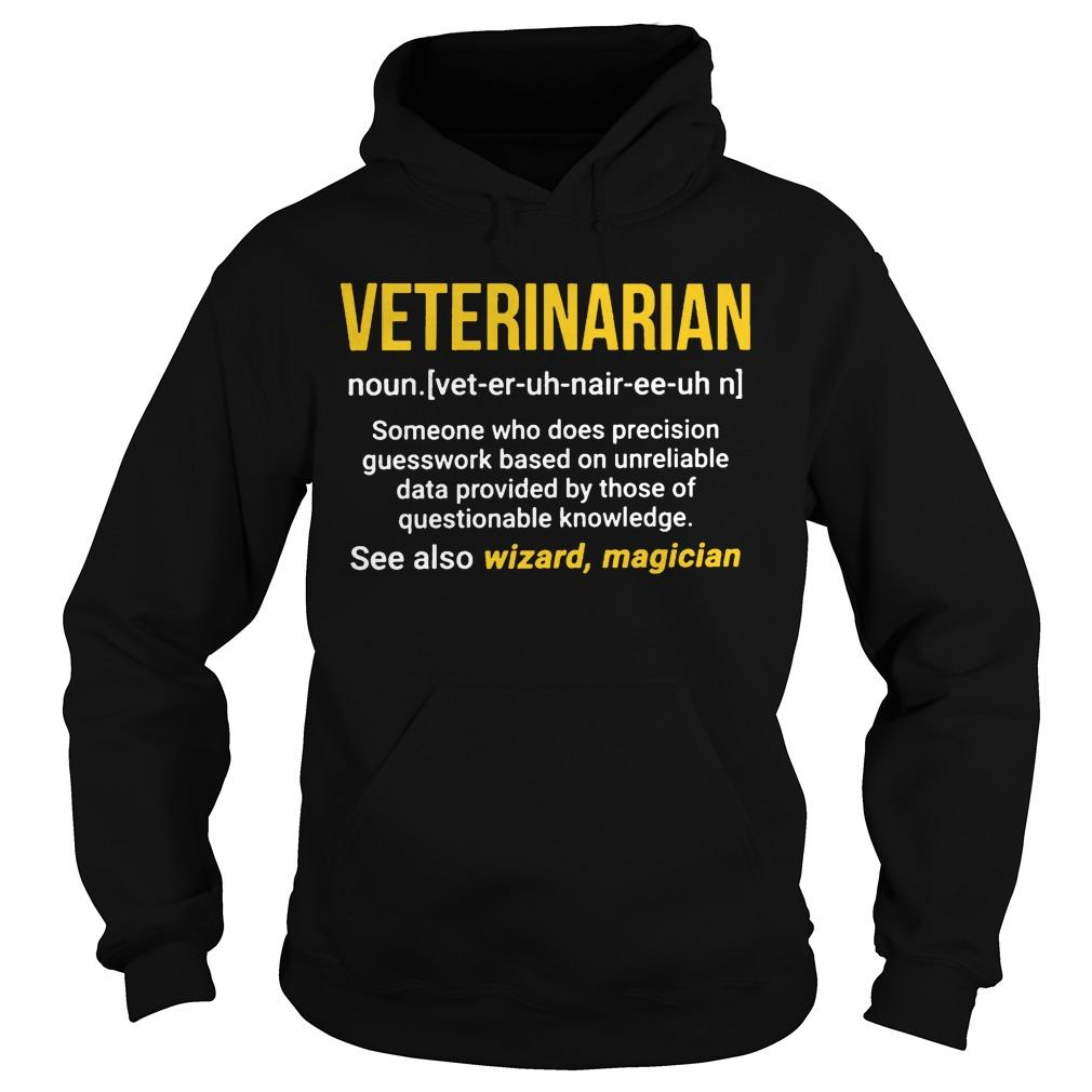 Veterinarian See Also Wizzard Magician Hoodie