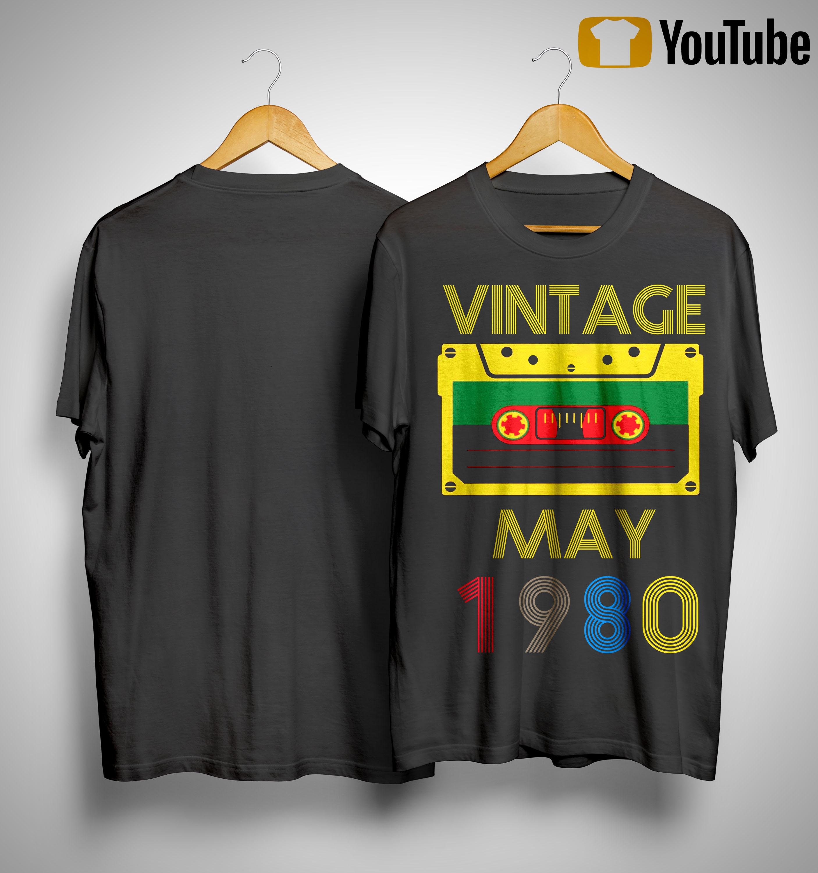 Video Tape Vintage May 1980 Shirt