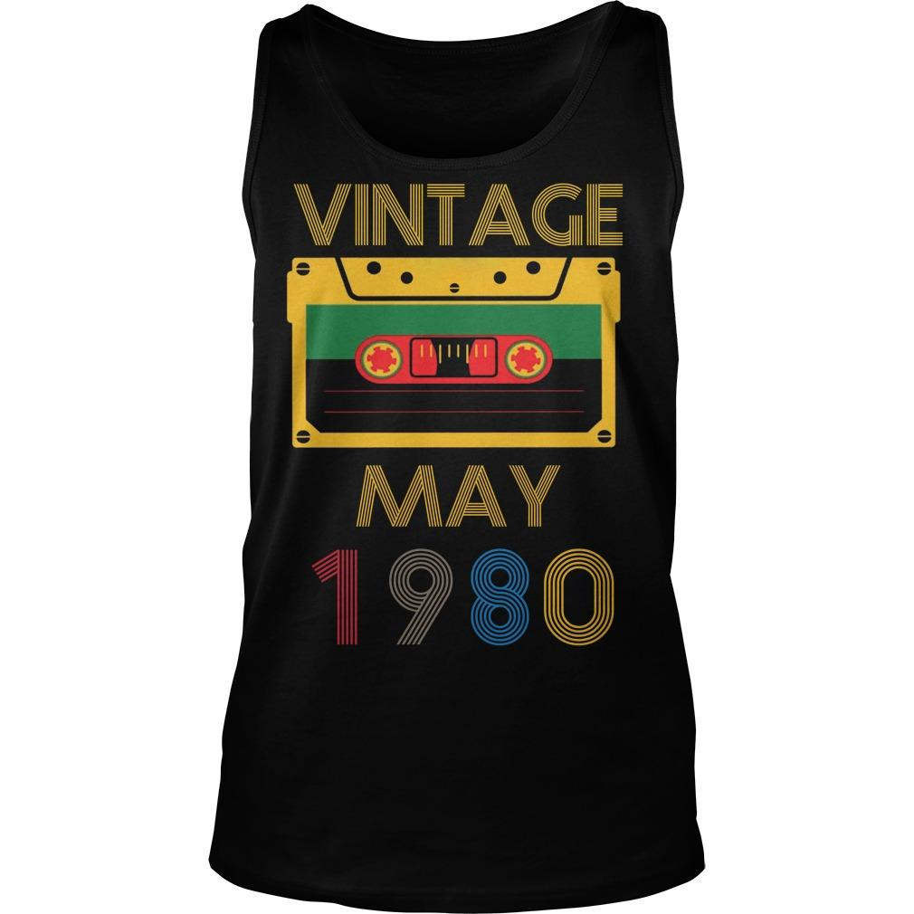 Video Tape Vintage May 1980 Tank Top