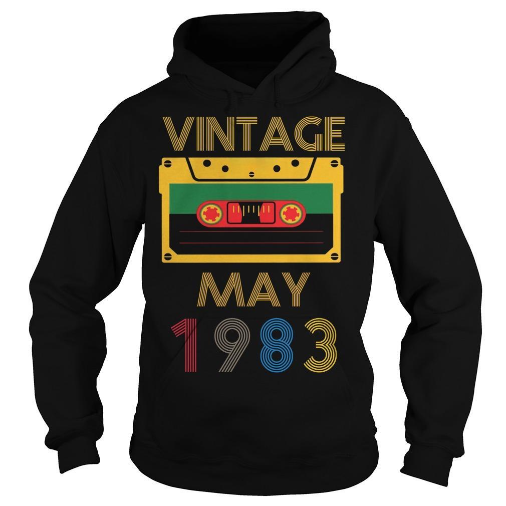 Video Tape Vintage May 1983 Hoodie