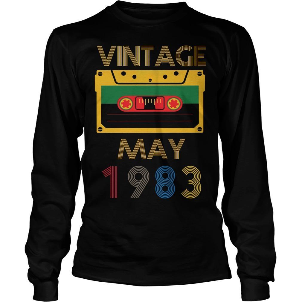 Video Tape Vintage May 1983 Longsleeve