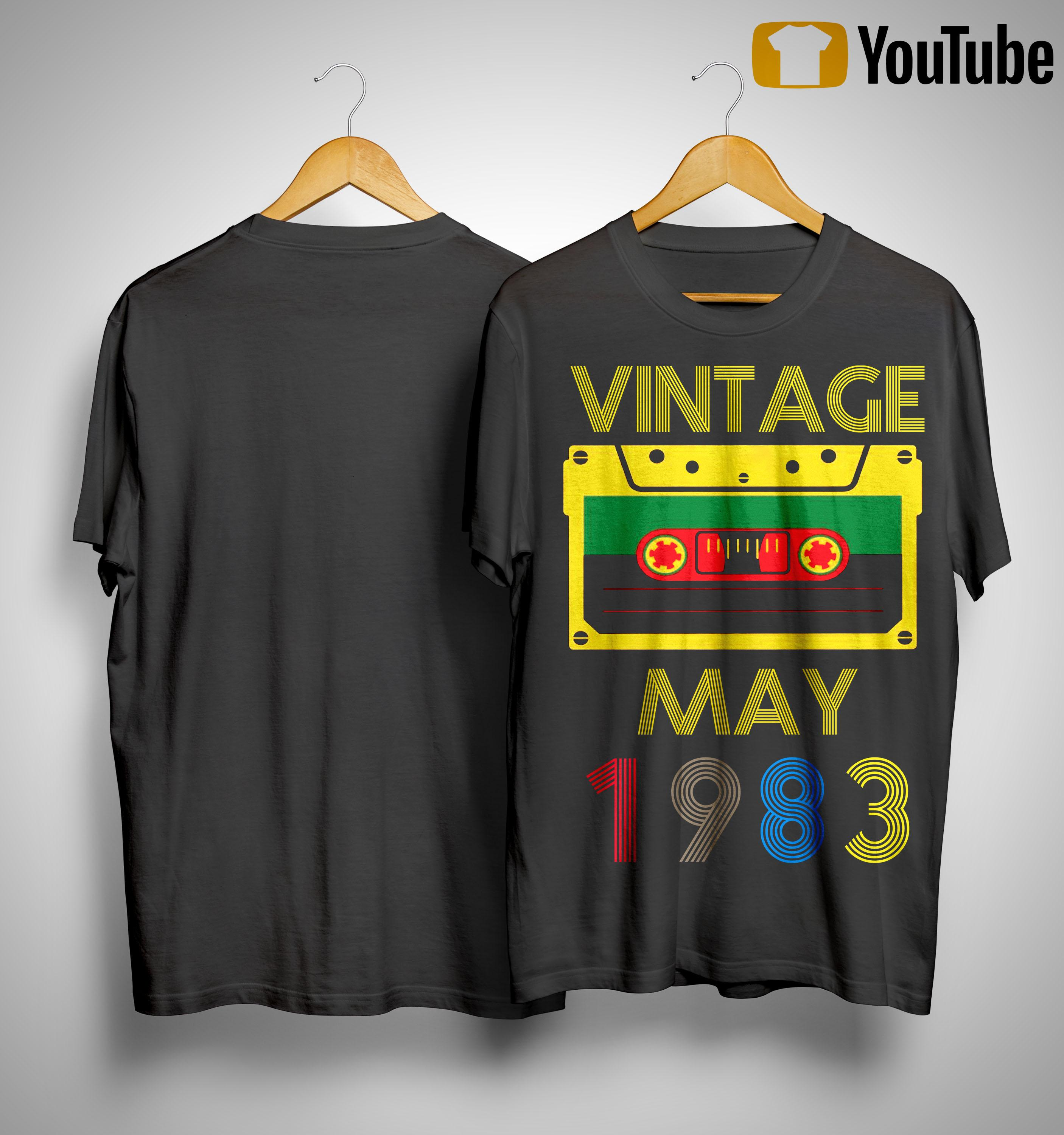 Video Tape Vintage May 1983 Shirt