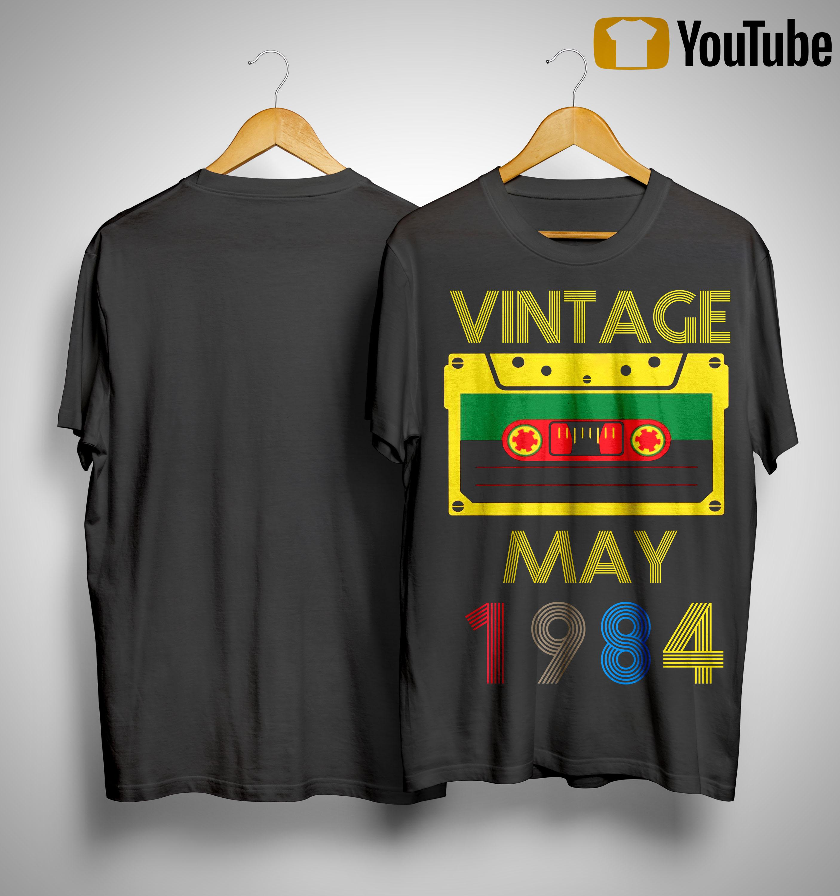Video Tape Vintage May 1984 Shirt