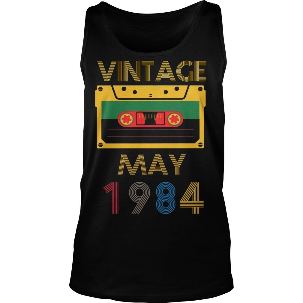 Video Tape Vintage May 1984 Tank Top