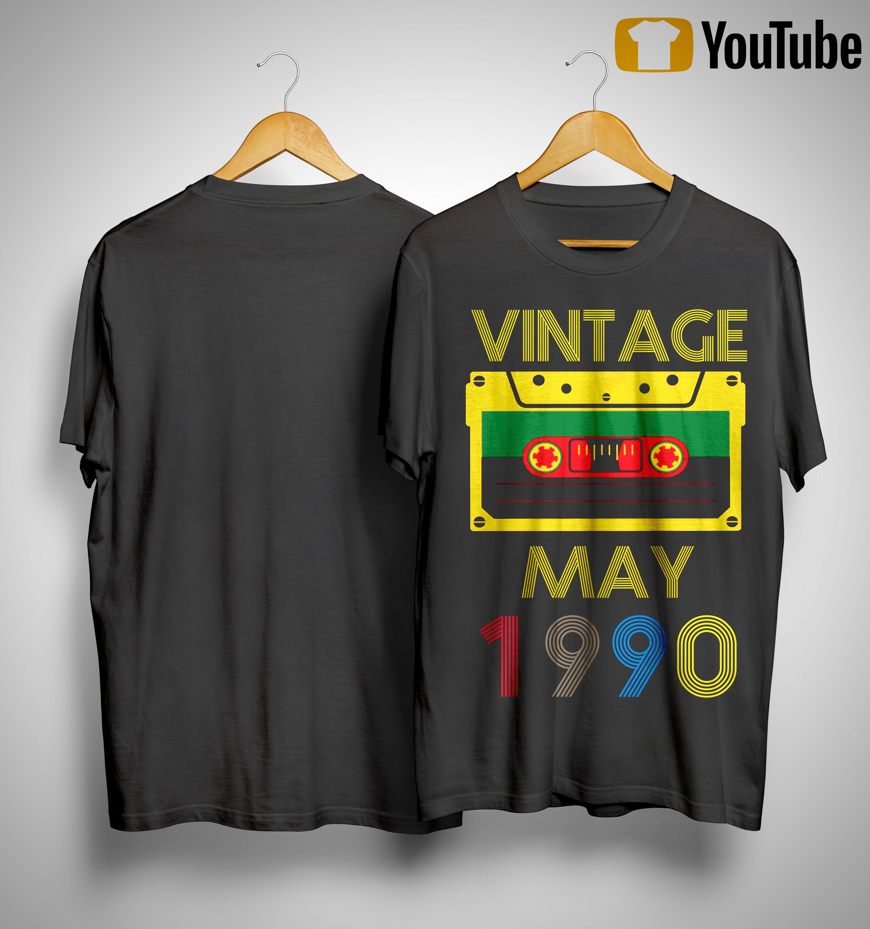 Video Tape Vintage May 1990 Shirt
