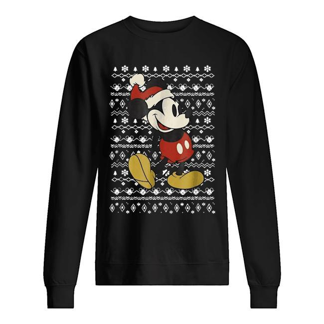 Vintage Christmas Mickey Mouse Sweater