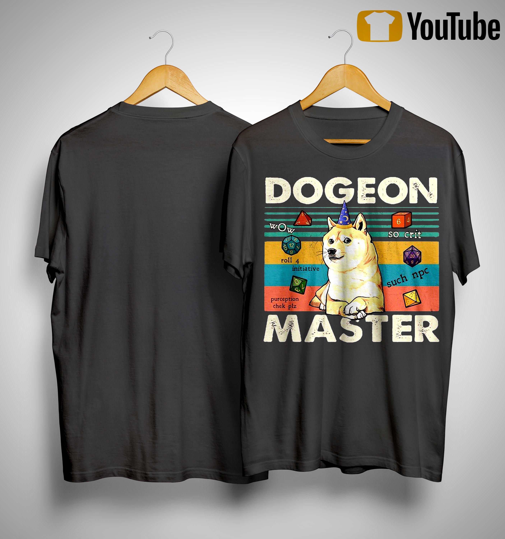 Vintage Shiba Dogeon Master Shirt