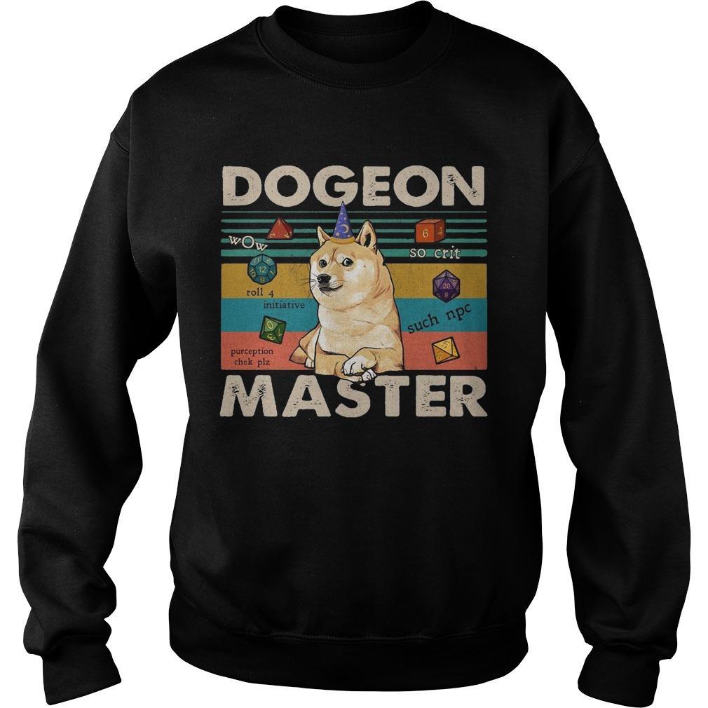 Vintage Shiba Dogeon Master Sweater