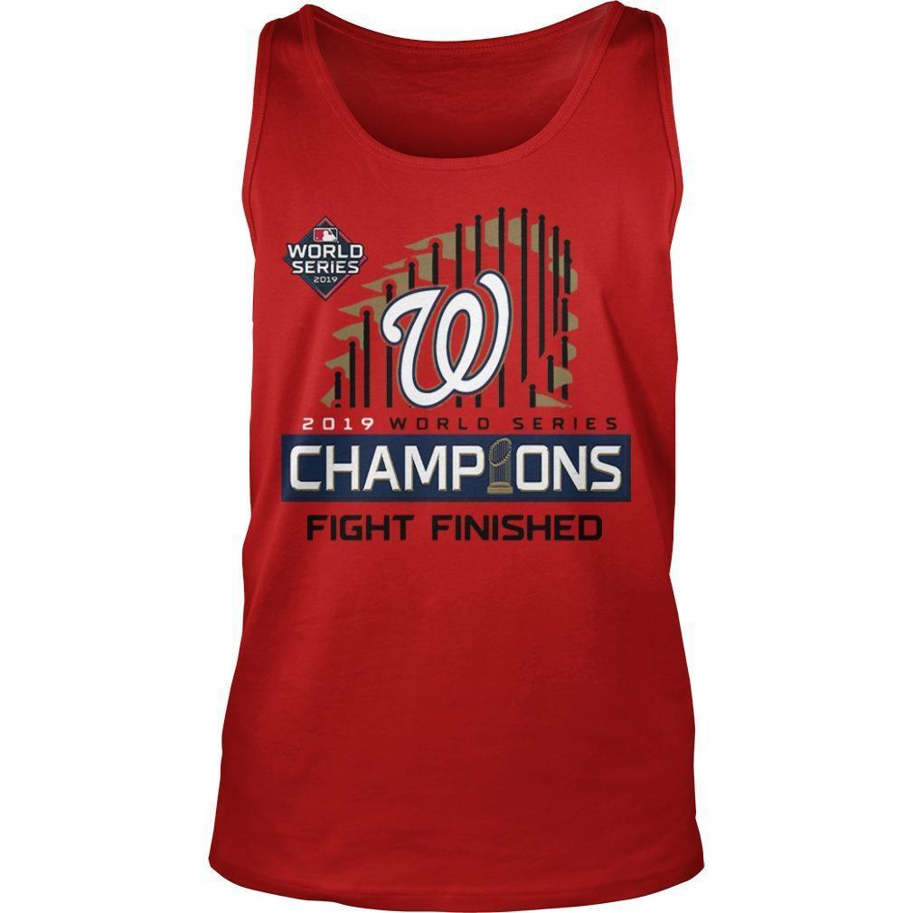 Washington Champions Fight Finished Tank Top