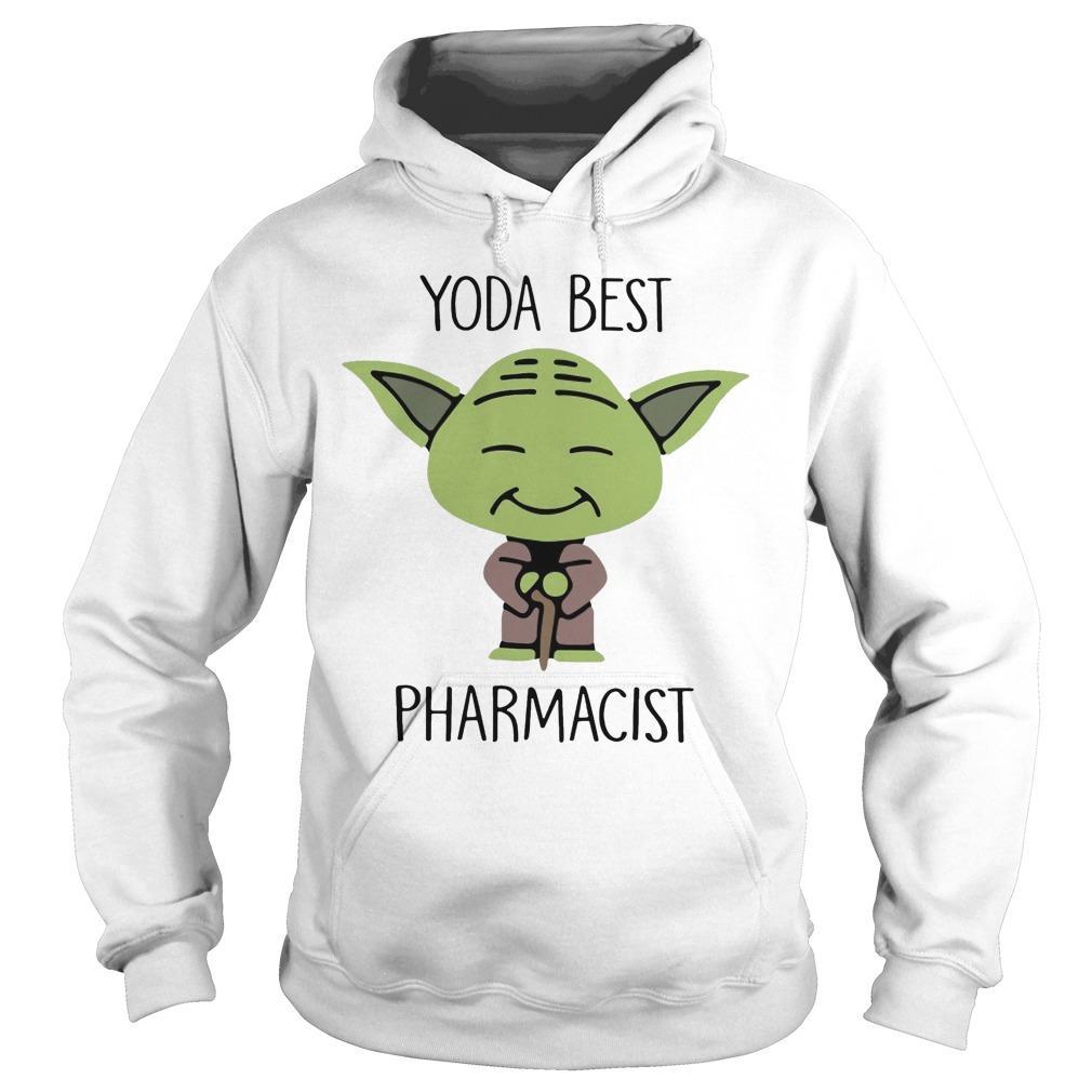 Baby Yoda Best Pharmacist Hoodie