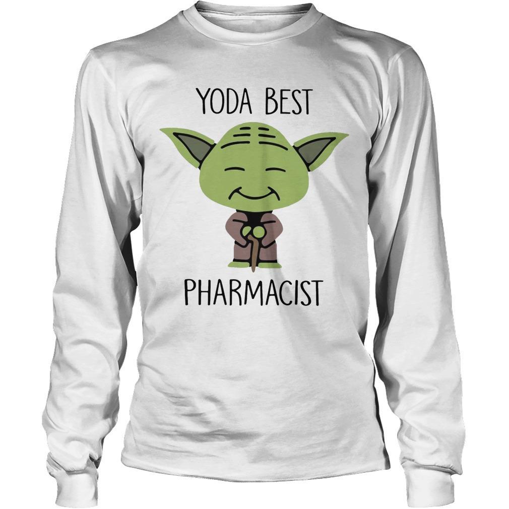 Baby Yoda Best Pharmacist Longsleeve