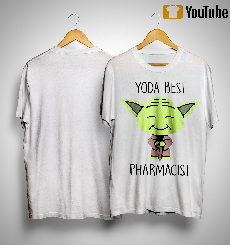 Baby Yoda Best Pharmacist Shirt
