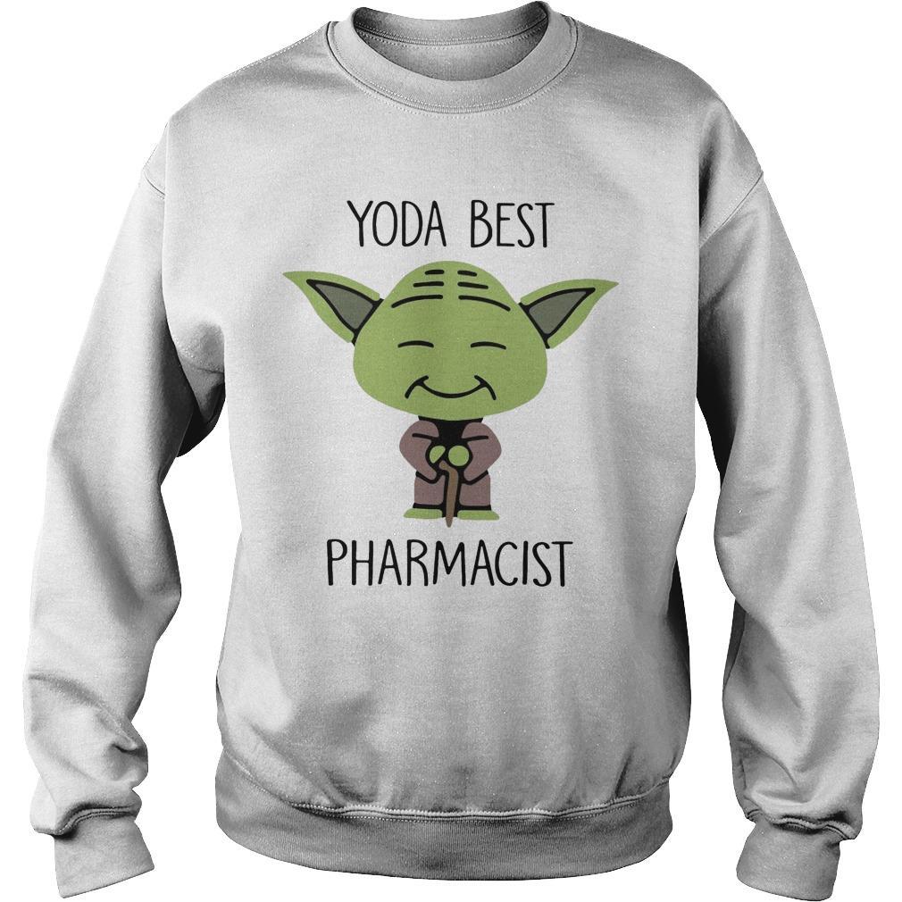 Baby Yoda Best Pharmacist Sweater