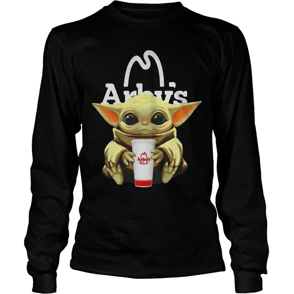 Baby Yoda Hugging Arby Longsleeve
