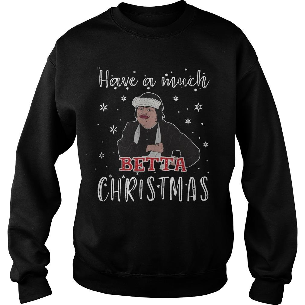 Baga Chipz Have A Much Betta Christmas Sweater