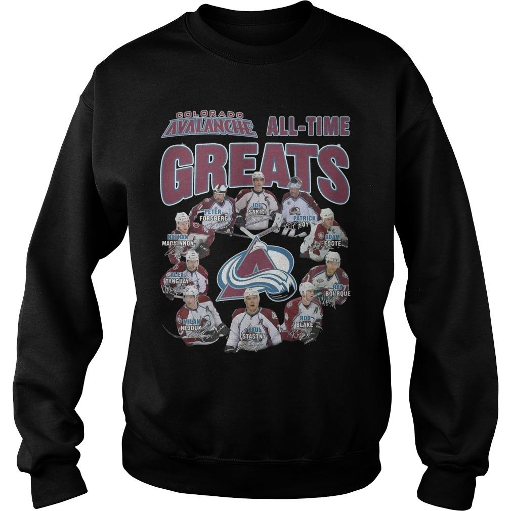Colorado Avalanche All Time Greats Sweater