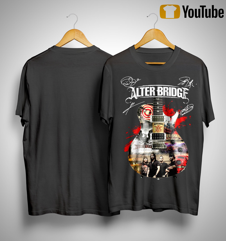 Guitar Alter Bridge Shirt