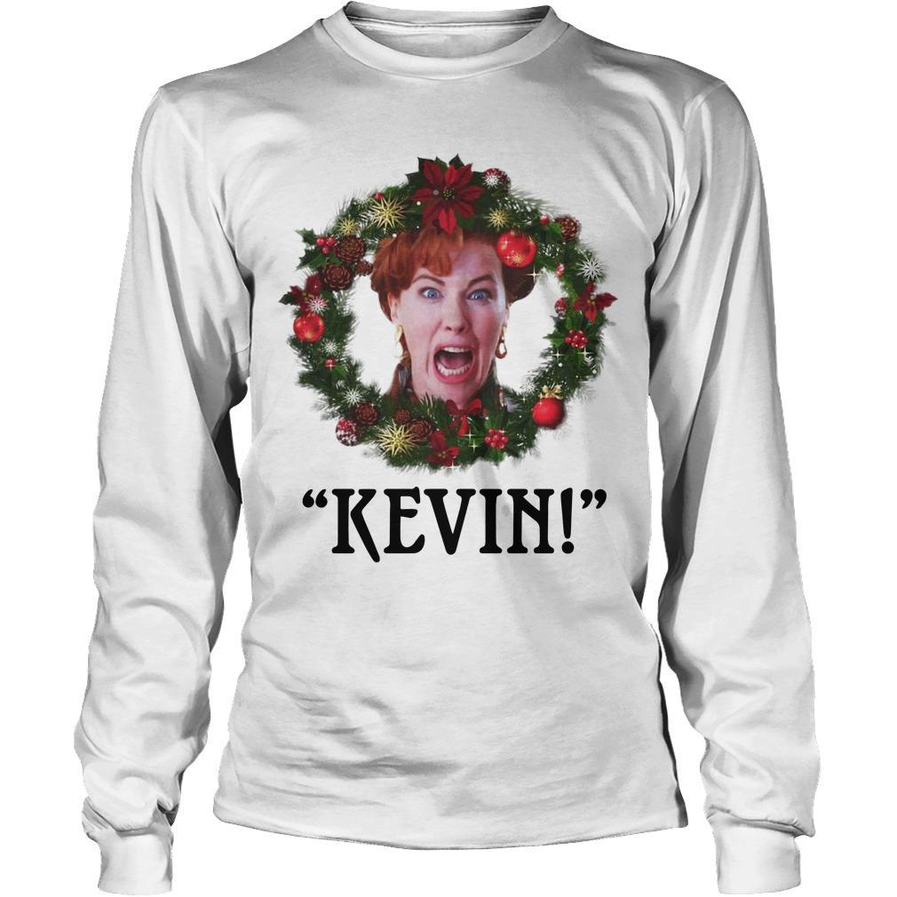 Home Alone kevin christmas shirt Longsleeve