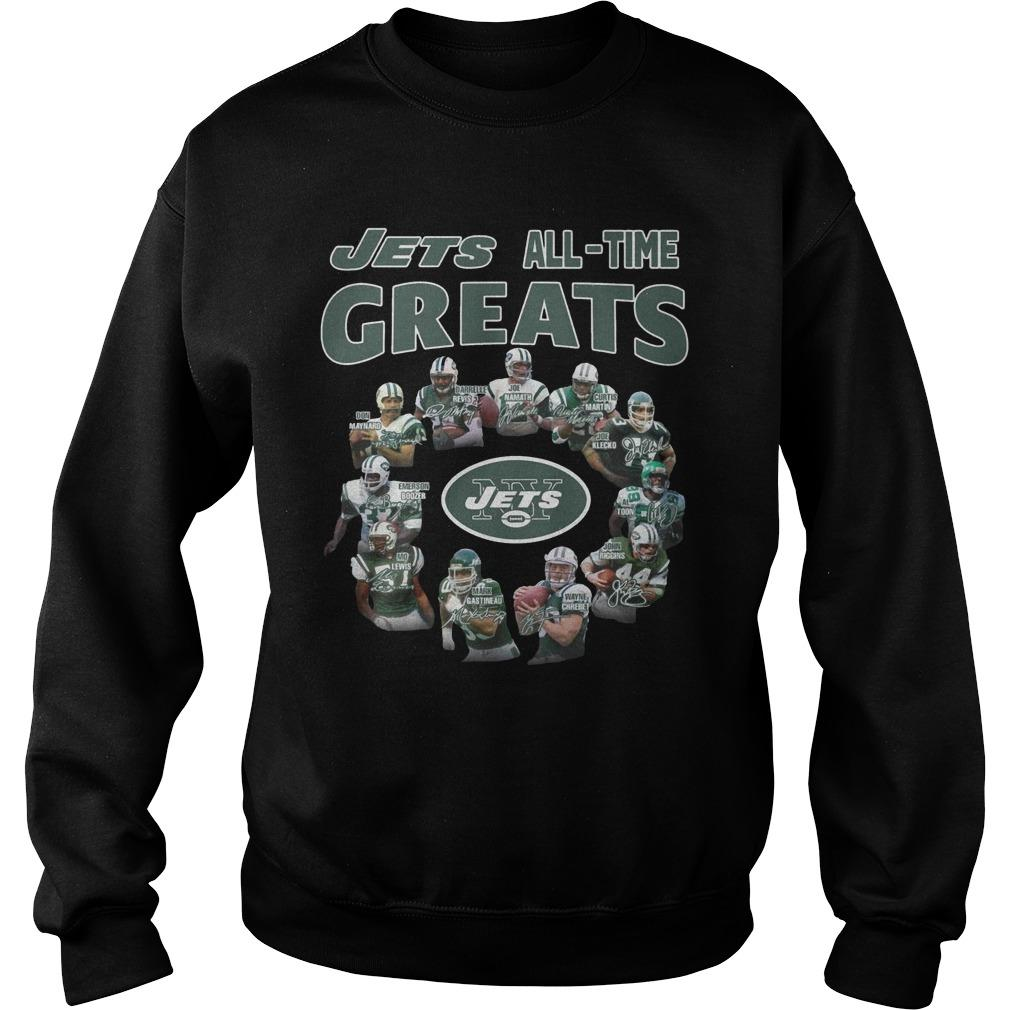 New York Jets All Time Great Sweater