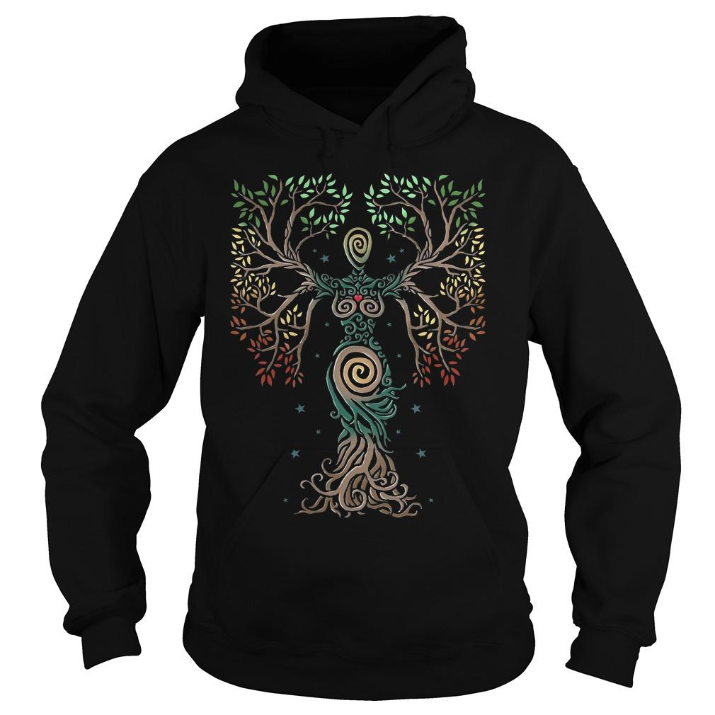 Norse Myths Tree Of Life Hoodie