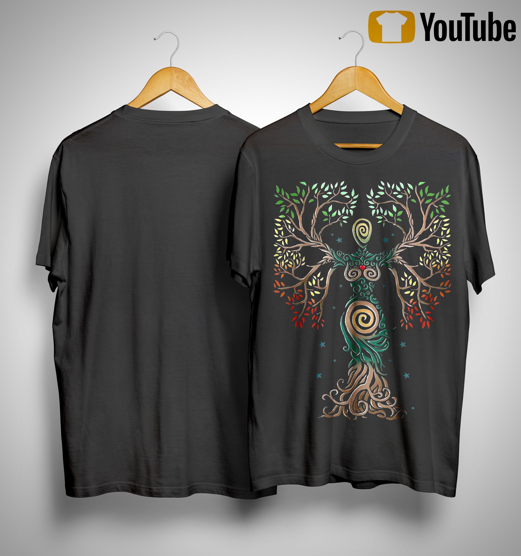 Norse Myths Tree Of Life Shirt